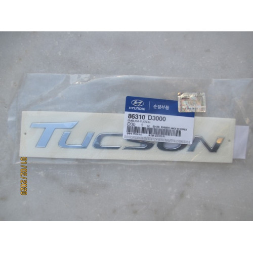 AMBLEM TUCSON YAZI LOGO HYUNDAI TUCSON 2016-2020