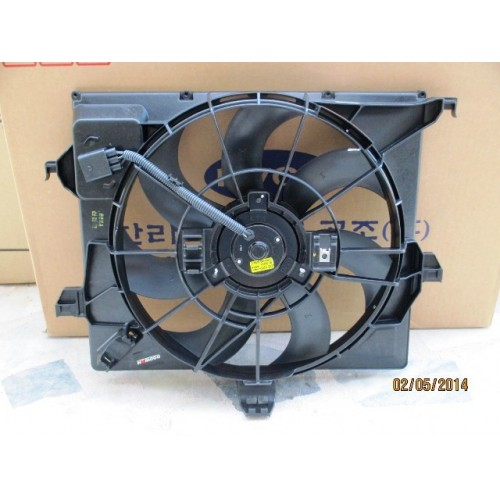 FAN KOMPLE DİZEL HYUNDAİ ACCENT BLUE 2011-2014